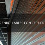 Puertas enrollables, una opción segura con el marcado CE